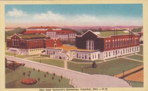 COLUMBUS, Ohio, 1930-1940's; Ohio State University's Gymnasium