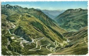 Switzerland, Val Tremola – Gotthardstrasse, Strada del San Gottardo, 1956 used