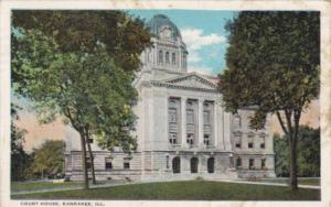 Illinois Kankakee Court House Curteich