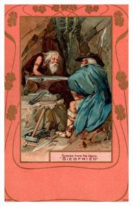 3631  Blacksmith scene from opera Siegfried