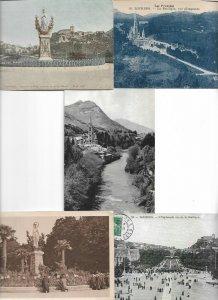France Lourdes Postcard Lot of 13 01.03