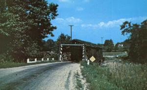 March Road Covered Bridge - Mill Creek East of Jefferson, Ohio