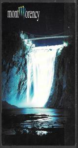 Canada, Quebec, Montmorency Falls, unused