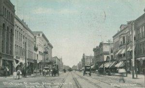 SOUTH BEND , Indiana , PU-1909 ; Michigan Street