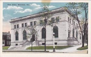 Ohio Mansfield Post Office