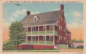 North Carolina Winston Salem Salem Tavern In Which Geo Washington Spent Two N...
