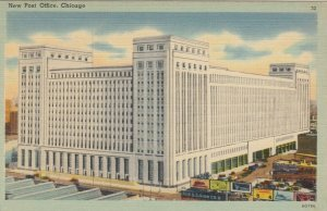 CHICAGO, Illinois, 1930-40s ; New Post Office, version 2