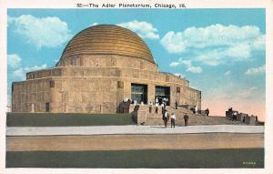The Adler Planetarium, Chicago, Illinois, early postcard, Unused