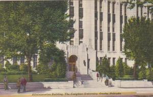 Nebraska Omaha Administration Building Creighton University