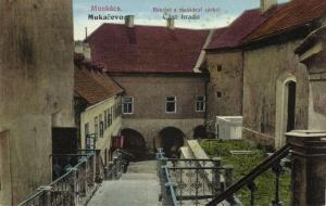 ukraine russia, MUKACHEVE MUNKÁCS MUKAČEVO Мукачеве, Parts of the Castle (1910s)
