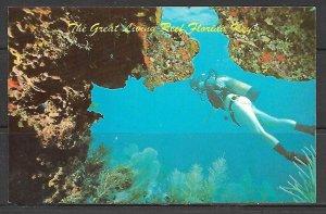 Florida, Keys - Great Living Reef - [FL-664]
