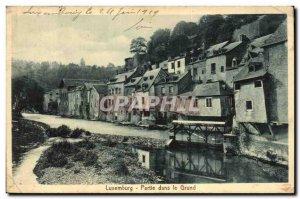 Old Postcard Party in Luxemburg Grund
