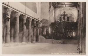 RP: Interior View, Church of the Nativity, Bethlehem, West Bank, Palestine