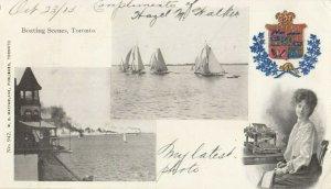 TORONTO, Ontario, Canada, PU-1905; Boating Scenes