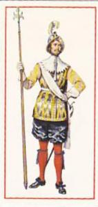 Carreras Vintage Cigarette Card Military Uniforms 1976 No 3 Pikeman 1660 King...