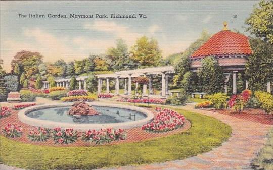 Virginia Richmond The Italian Garden Maymont Park