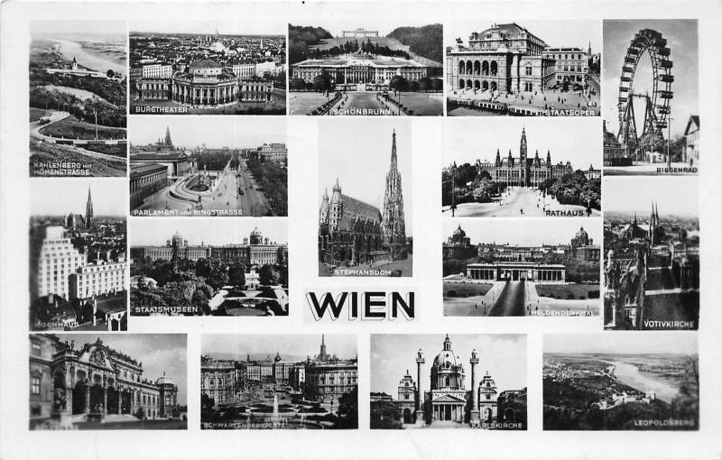 B55951 Wien multiviews  austria