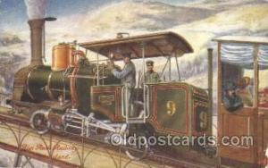 The Rigi Rock Railway, Switzerland Train Trains Locomotive, Steam Engine,  Po...