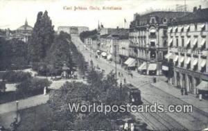 Norway, Norwegian, Norge, Norske Kristiania Carl Johans Gade