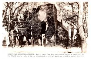 Virginia  Jamestown Memorial Church