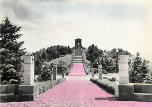Serbia Avala unknown warior monument semi-modern postcard