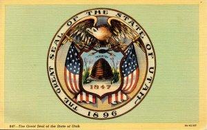 UT - The Great Seal of the State of Utah
