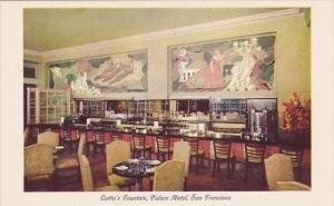 Lottas Fountain Palace Hotel San Francisco California