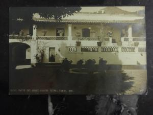 1930s Mexico Real Picture RPPC Postcard Hotel Rancho Telva In Taxco To Chicago