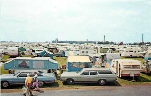 WI, Oshkosh, Wisconsin, Experimental Aircraft Assoc., Wittman Field, Tent City