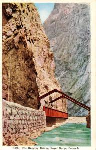 CO - Royal Gorge. Hanging Bridge