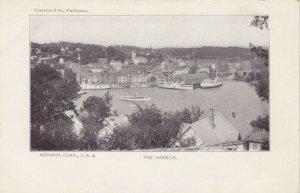 NORWICH , Connecticut , 1901-07 ; The Harbor