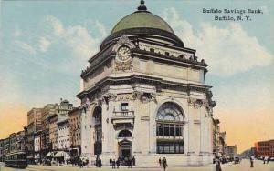 Exterior, Buffalo Savings Bank, Buffalo, New York,  00-10s
