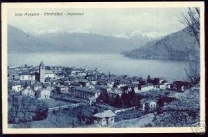 italy, CANNOBIO, Lago Maggiore, Panorama (ca. 1920)
