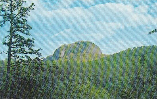 looking Glass Rock Pisgah National Forest Western North Carolina