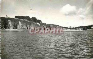 Modern Postcard Etables sur Mer C N Notre Dame Esperance Beach Mill