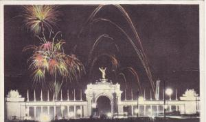 The Princes' Gates Illuminated, Canadian National Exhibition, TORONTO, Ontari...