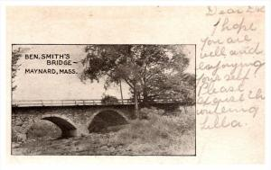 16342  MA Maynard  Ben Smith's Bridge