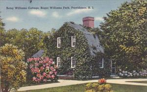 Betsy Williams Cottage Roger Williams Park Providence Rhode Island