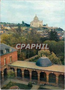 Modern Postcard Lisieux (Calvados) for the Basilica of Carmel of Humility has...