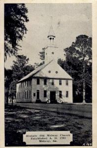 Historic Old Midway Church Midway GA Unused