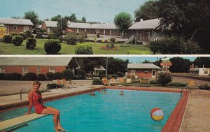 GUTHRIE, Kentucky, 1950-1960's; Covington's Motel, Swimming Pool