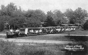Benton Harbor Michigan C-1910 Miniature Railroad House of David Postcard 3384