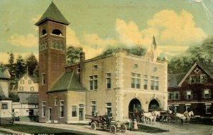 VT - Barre. Barre Fire Department circa 1910