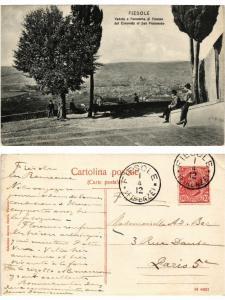 CPA FIESOLE Veduta e Panorama dal Convento di San Francesco. ITALY (467378)