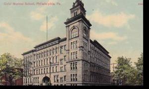 Pennsylvania Philadelphia Girls Normal School