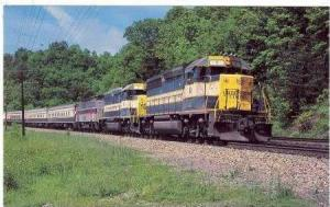 American-European Express Train, Callahan, Virginia, 1980s