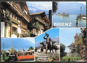 Switzerland, Brienz, (Berner Oberland) multiview, unused