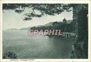 Postcard Modern Rapallo artistic Paesaggio