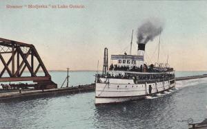 Oceanliner/Steamer/Ship Modjeska On Lake Ontario, 1900-1910s