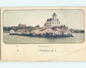 Pre-1907 LIGHTHOUSE Providence Rhode Island RI i1703